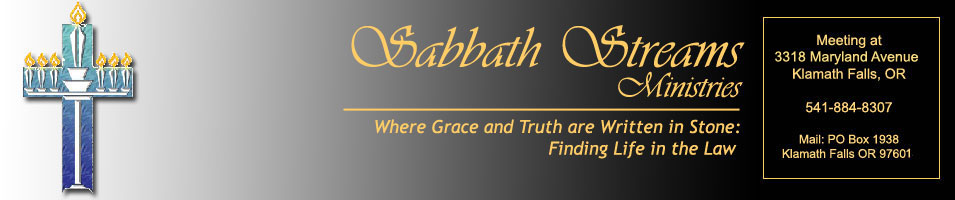 Sabbath Streams Messianic Fellowship